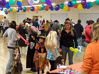Mountain Communities of the Tejon Pass - Some of the people who live in the Mountain Communities at a Halloween celebration in Frazier Park