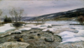 Frederik Collett - Fra Mesnas utløp - Nasjonalmuseet - NG.M.00391.png