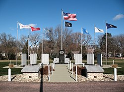 South Dakota Veterans Memorial in Freeman