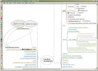 FreeMind - Image: Freemind 0.9x Screenshoot