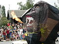 Fremont Solstice Parade 2007 - fire ape 03.jpg