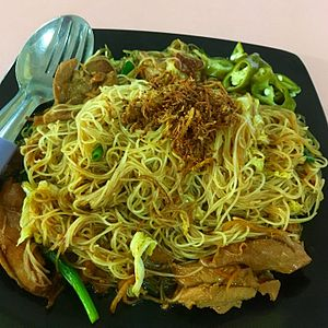 Rice vermicelli - Singapore fried rice noodles