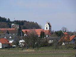 Gemeinde Fronreute, Landkreis Ravensburg Fronhofen, von Bettenreute aus gesehen