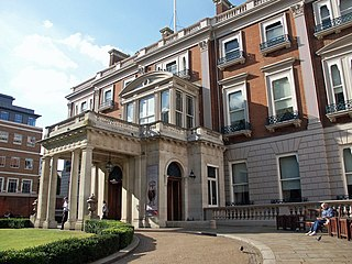 Wallace Collection art museum in London, England, UK