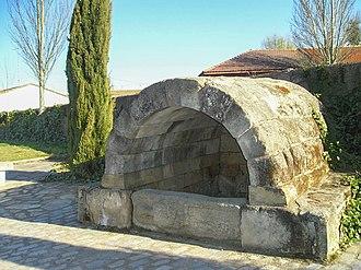 Calzada de Valdunciel - Roman fountain.