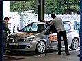 Fulvio Mussi's Clio (Parc Ferme).JPG