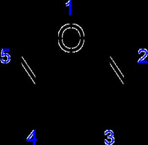 Furazan - Image: Furazan numbering