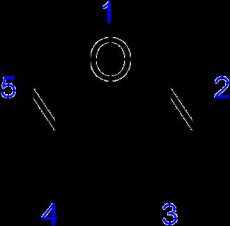 Azole - Image: Furazan numbering