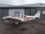 G-CIOY Beech Bonanza G36 (Bonanzair Ltd) (46704887462).jpg