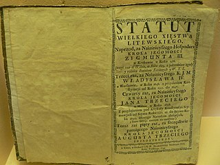 Statute Formal written document that creates law