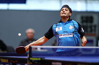 Kalinikos Kreanga Greek table tennis player