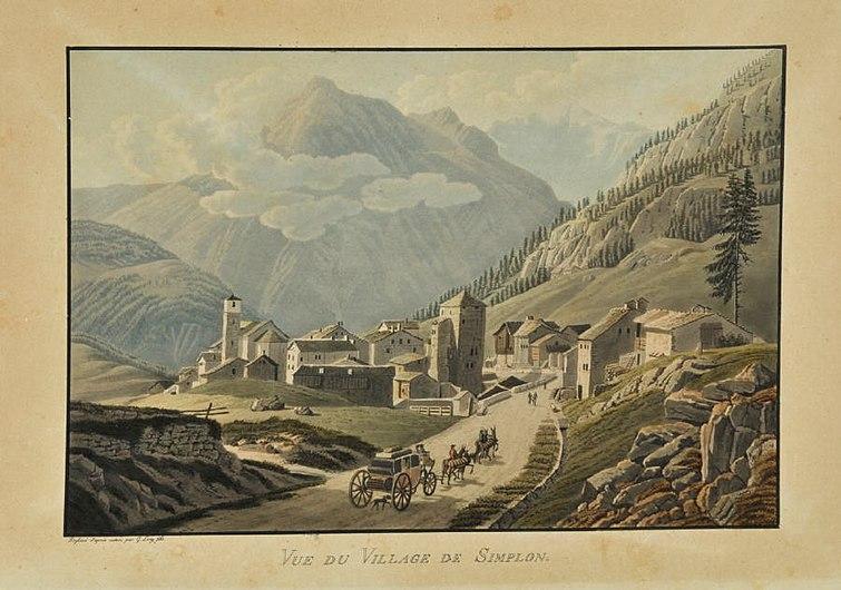 Gabriel Lory II Vue du Village de Simplon.jpg