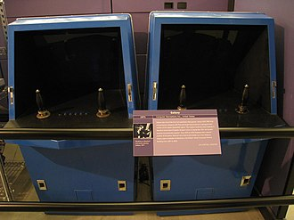 Early history of video games - Galaxy Game was one of the first arcade video games.