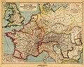 Gallia, Britannia, Germania, Provinciae Danuvienses, Heinrich Kiepert (1903).jpg