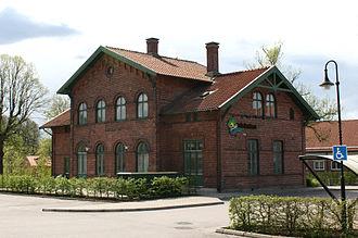 Laholm Municipality - Image: Gamlastationshuset
