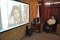 Ganga Singh Rautela Skyping With Natalie Batalha - Professional Enrichment Programme On Astronomy Awareness - NCSM - Kolkata 2011-09-20 5354.JPG