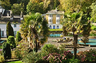 Italianate architecture - Gardens in Portmeirion
