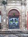 Gato pintado en Exconvento de San Agustín en Morelia.jpg
