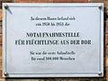 Gedenktafel Kuno-Fischer-Str 8 Notaufnahmestelle DDR Flüchtlinge.JPG