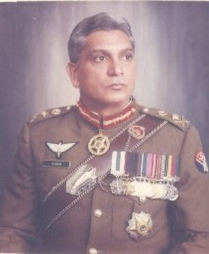 Chairman Joint Chiefs of Staff Committee - Image: General Shamim Alam Khan
