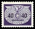 Generalgouvernement 1940 D23 Dienstmarke.jpg