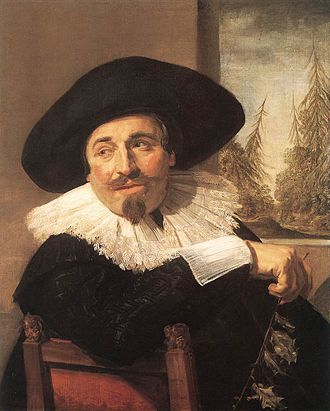 "Frank Porter Wood - ""Portrait of a Gentleman, Isaak Abrahamsz Massa"" by Frans Hals, 1626, and donated to the Art Gallery of Ontario in 1955 by Wood."