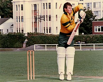 Geoff Marsh - Marsh at Victoria University, Wellington in 1986.