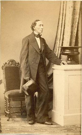 Georg Emil Hansen - Georg E. Hansen: H.C. Andersen (1862)