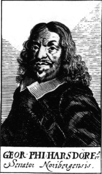 Georg Philipp Harsdörffer - Image: Georg Philipp Harsdörffer