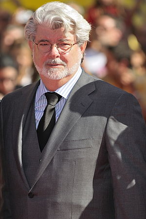 Something, Something, Something, Dark Side - Star Wars creator George Lucas.