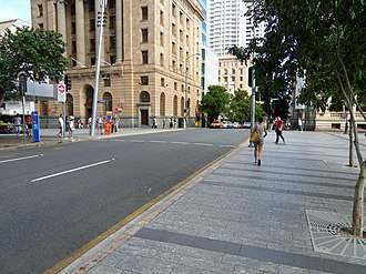 George Street, Brisbane - George Street from Queen Street intersection