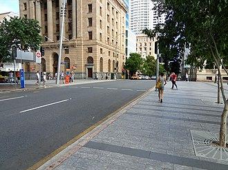 George Street, Brisbane - George Street from Queen Street intersection