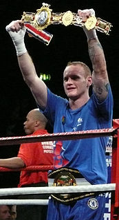 George Groves (boxer) British boxer
