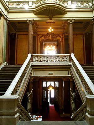 Belgrade Cooperative - Interior of the building