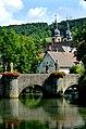 Gerlachsheim, Blick über den Grünbach.jpg