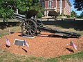 German howitzer (World War I) - Southborough, MA - IMG 0723.JPG