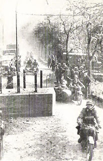 German invasion of Luxembourg in WWII