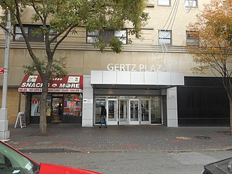 Gertz (department store) - The shopping plaza in Jamaica, Queens which originally served as the Gertz flagship store.