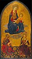 Gherardo Starnina (?) - Adoration of the Virgin and Child by Saint John the Baptist and Saint Catherine - Google Art Project.jpg