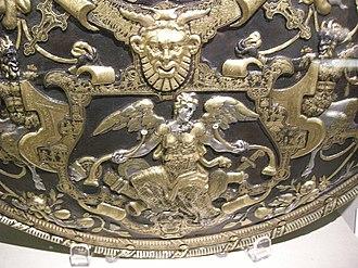 Ghisi Shield - Image: Giorgio ghisi, mantova, scudo da parata, 1554, 06