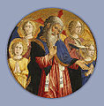 Giovanni Francesco da Rimini - God the Father with Four Angels and the Dove of the Holy Spirit - Google Art Project.jpg