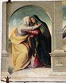 Giovanni larciani, visitazione, annunciazione s. giuseppe con eterno nella lunetta, 1526, 03 da mariotto.JPG