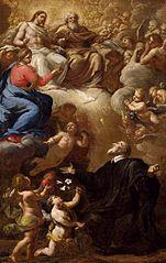 Vision of St Philip Neri