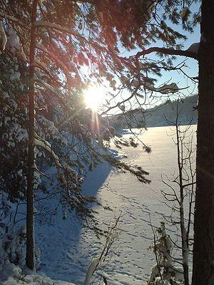 Gjersjøen - Image: Gjersjoen