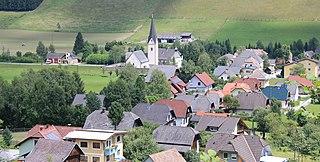 Glödnitz Place in Carinthia, Austria
