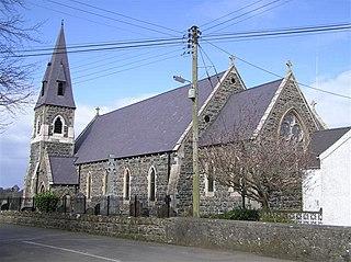 Glenavy village in the United Kingdom