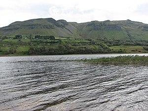 Glencar Lough - South towards Cope's Mountain