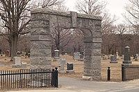 Glenwood Cemetery entrance arch, Maynard MA.jpg