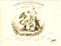 Goethe-Lieder - Václav Tomášek - ed. Marco Berra, Prague (ca.1830) - page de titre.png