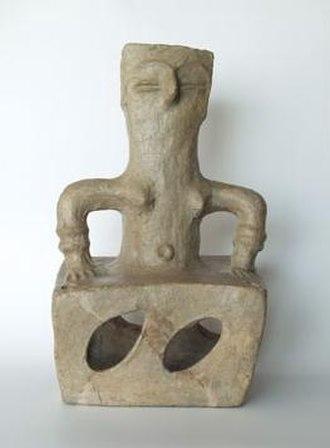 Neolithic - Female figure from Tumba Madžari, Republic of Macedonia